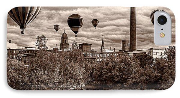 Lewiston Maine Hot Air Balloons Phone Case by Bob Orsillo
