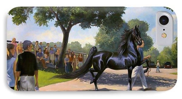 Lexington Stallion Tour IPhone Case by Jeanne Newton Schoborg