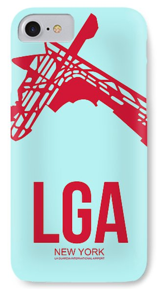 Lga New York Airport 2 IPhone Case