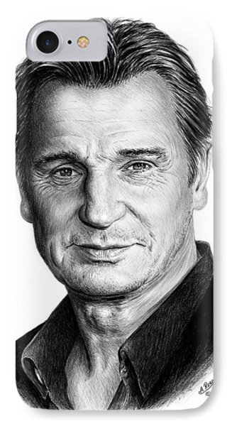 Liam Neeson Phone Case by Andrew Read