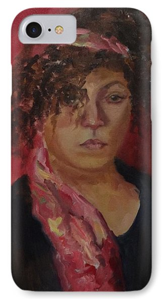 Libby Life Sketch IPhone Case by Carol Berning