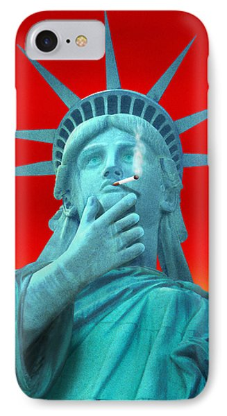 Liberated Lady - Special IPhone Case by Mike McGlothlen