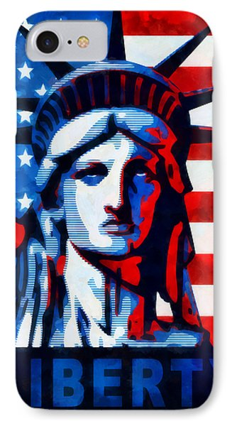 Liberty 1 Phone Case by Angelina Vick