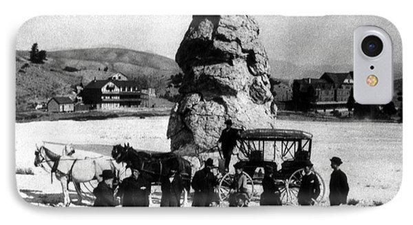 Liberty Cap Yellowstone National Park IPhone Case