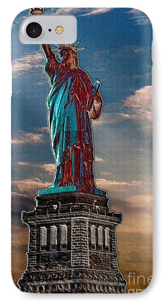 IPhone Case featuring the photograph Liberty For All by Luther Fine Art