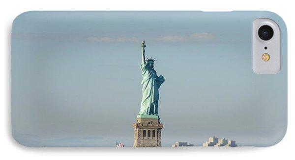 Liberty Herself Phone Case by Julie Koretz