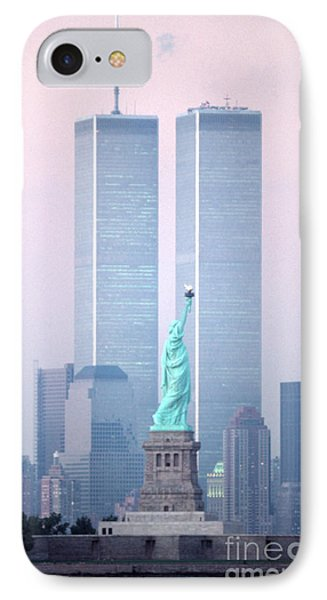 Liberty Memories IPhone Case by Christopher Boswell
