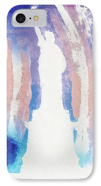 Liberty IPhone Case by Mo T