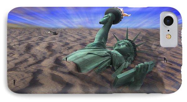 Liberty Park Phone Case by Mike McGlothlen
