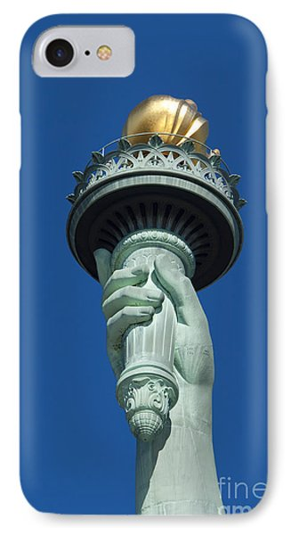 Liberty Torch Phone Case by Brian Jannsen