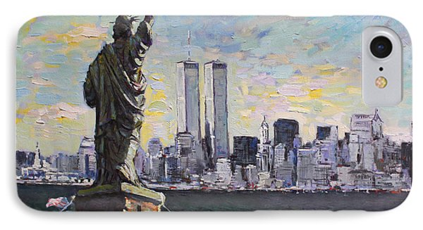 Liberty IPhone Case by Ylli Haruni