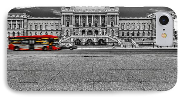 IPhone Case featuring the photograph Library Of Congress by Peter Lakomy