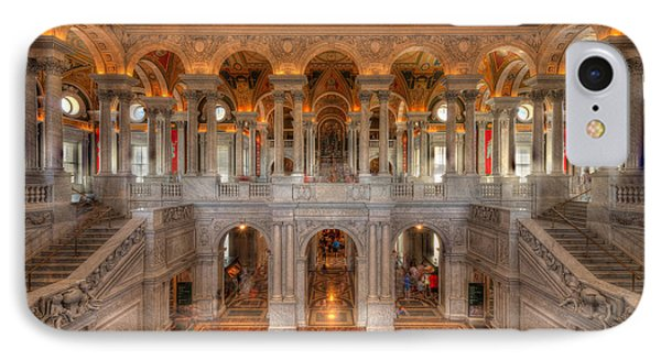 Library Of Congress IPhone 7 Case by Steve Gadomski