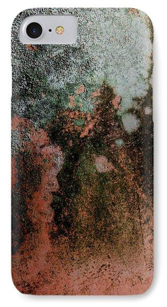 Lichen Abstract 2 Phone Case by Denise Clark