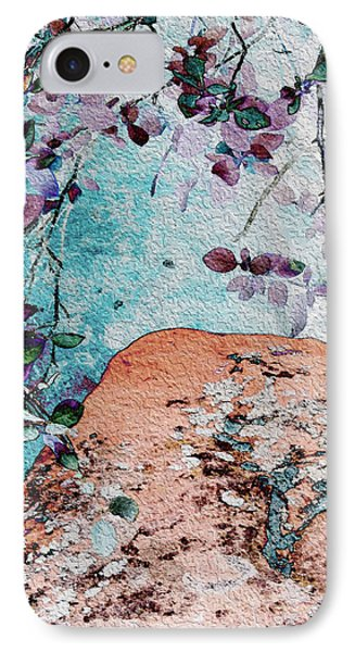Lichen And Leaves IPhone Case