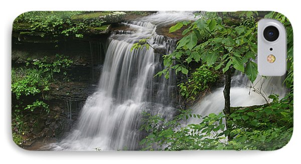 Lichen Falls Ozark National Forest IPhone Case