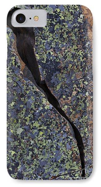 Lichen On Granite Phone Case by Heiko Koehrer-Wagner