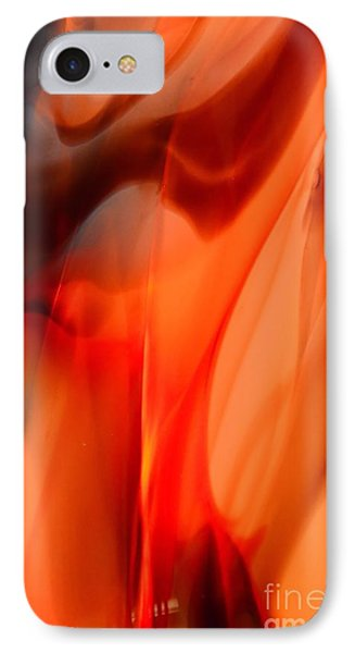 Licking Flame Phone Case by Lauren Leigh Hunter Fine Art Photography
