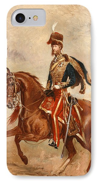 Lieutenant Colonel James Thomas Brudenell  Phone Case by Alfred de Prades