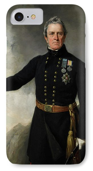 Lieutenant-general Sir George Pollock IPhone Case by British Library