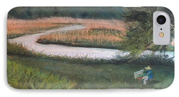 Lieutenant River In Lyme Ct IPhone Case