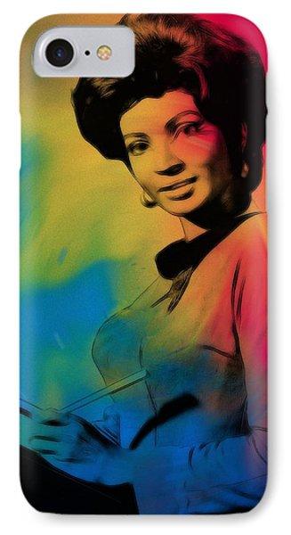 Lieutenant Uhura IPhone Case by Steve K