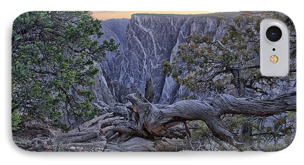 Life And Death At Painted Wall IPhone Case by Eric Rundle