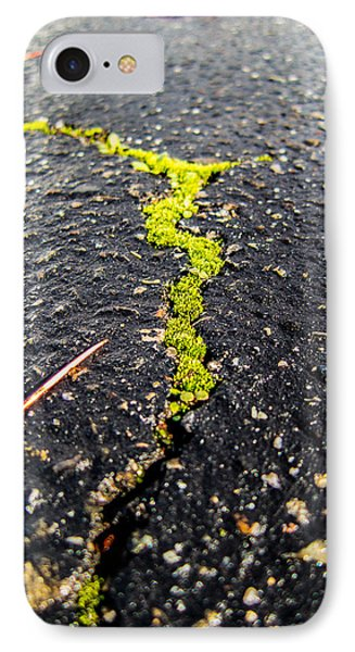Life Between The Cracks IPhone Case by Mike Lee