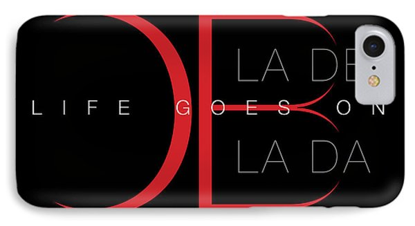 Life Goes On 1 Phone Case by Stephen Anderson