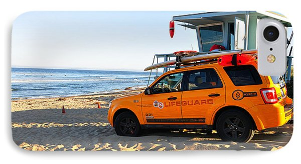 Life Guard  IPhone Case by Gandz Photography