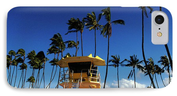 Life Guard Station Phone Case by Bob Christopher