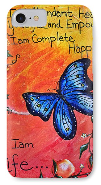 Life - Healing Art Phone Case by Absinthe Art By Michelle LeAnn Scott