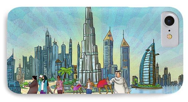Life In Dubai IPhone Case
