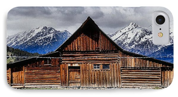 T A Moulton Barn IPhone Case