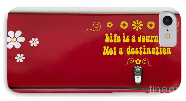 Life Is A Journey IPhone Case by Tim Gainey