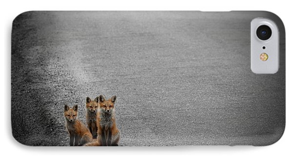 Life Is An Unknown Highway IPhone Case by Jim Garrison
