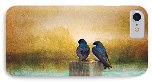 Life Long Friends - Days End IPhone Case by Beve Brown-Clark Photography