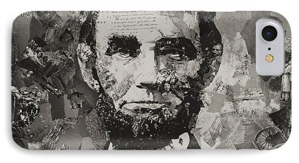 Life Of Lincoln IPhone Case by Claire Muller