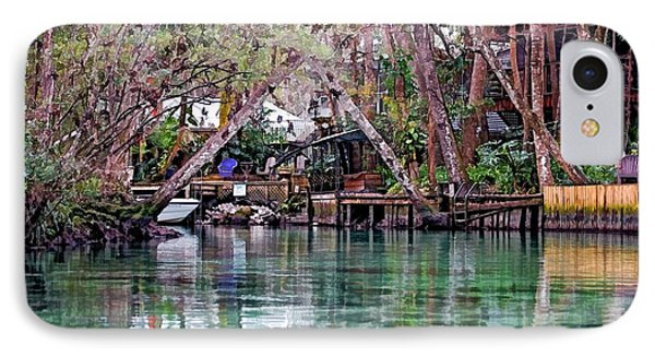 IPhone Case featuring the photograph Life On Weeki Wachee Springs by Pamela Blizzard