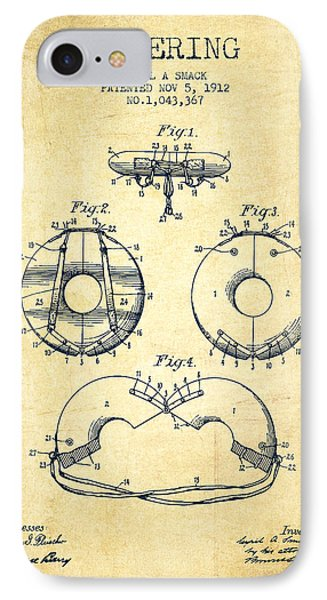 Life Ring Patent From 1912 - Vintage IPhone Case