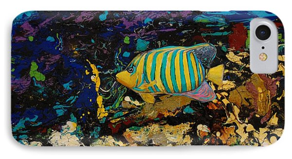 Life Underwater IPhone Case by Jean Cormier