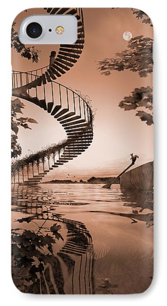 Life Without Stairs IPhone Case by Shinji K