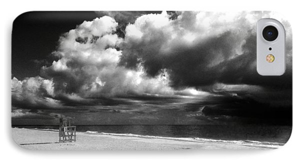 Lifeguard Chair Clouds IPhone Case