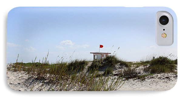 Lifeguard Station IPhone Case by Chris Thomas