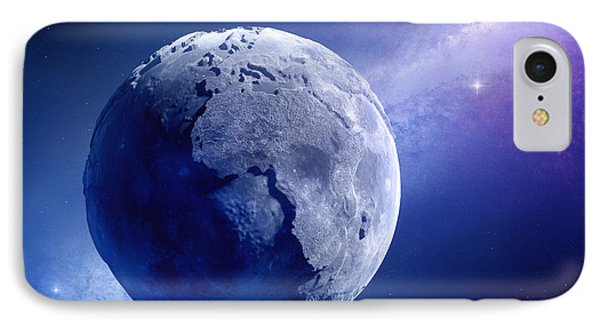 Lifeless Earth Phone Case by Johan Swanepoel