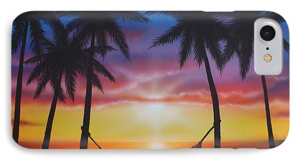 Life's A Beach IPhone Case by Darren Robinson
