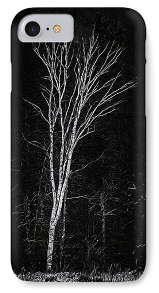 Life's A Birch No.2 IPhone Case by Mark Myhaver