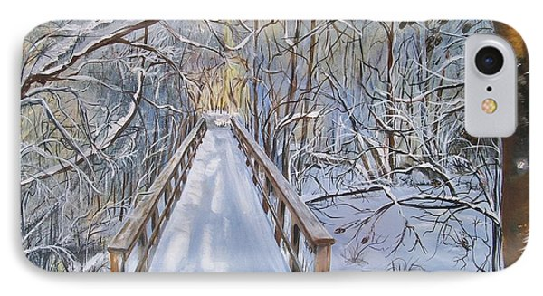 Life's  Path IPhone Case by Sharon Duguay