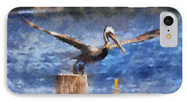 Lifting Off IPhone Case by Barbara R MacPhail