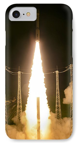 Liftoff Of Vega Vv06 With Lisa IPhone Case by Science Source